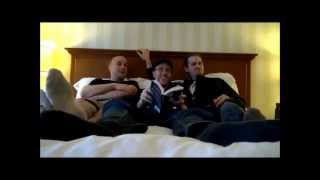 Nostalgia Critic, Uncle Yo, BrentalFloss, and Team Four Star Read