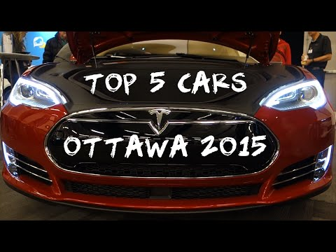 Top 5 Cars - Ottawa Car Show 2015 4K
