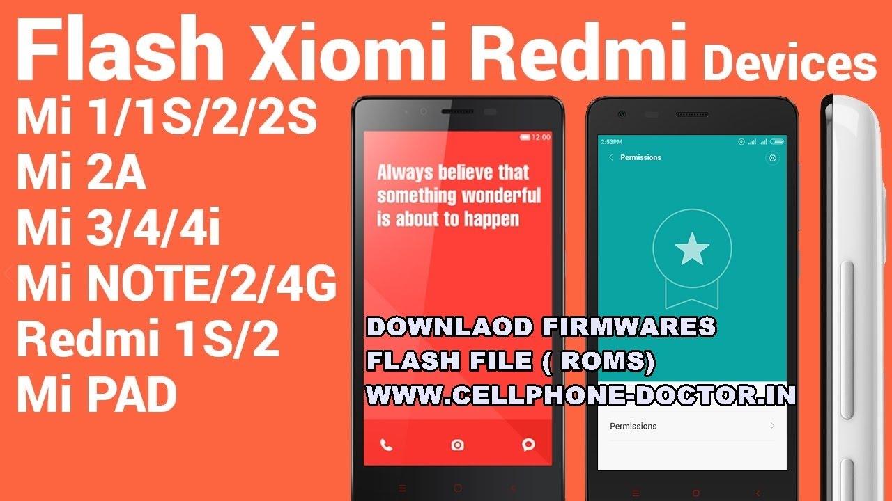 How to download Xiaomi Redmi mi flash file (firmwares) Miui 6,Miui 7,Miui 8  Or MODIFIED FIRMWARE'S