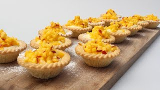 Macerated Nectarine & Mango Tartlet Recipe