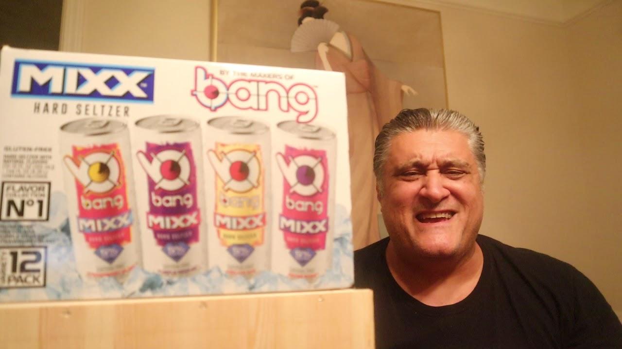 Bang Mixx Froze Rose Hard Seltzer Review Youtube