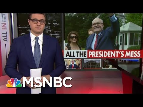 Chris Hayes On The Role Of Trump's Bagman In The Iran Crisis | All In | MSNBC