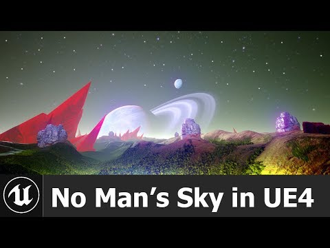 Show Off] I created No Man's Sky environment In UE4