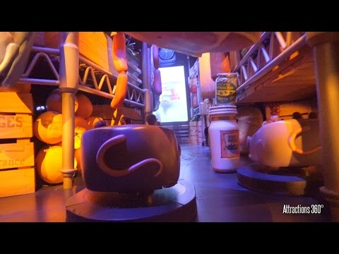 4K Trackless Ride  Ratatouille Ride  Disneyland Paris