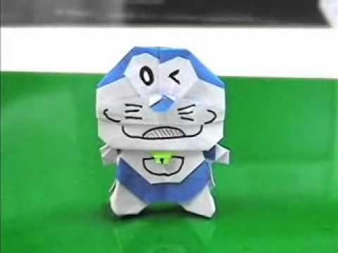 簡単 折り紙 折り紙 ドラえもん 折り方 : youtube.com