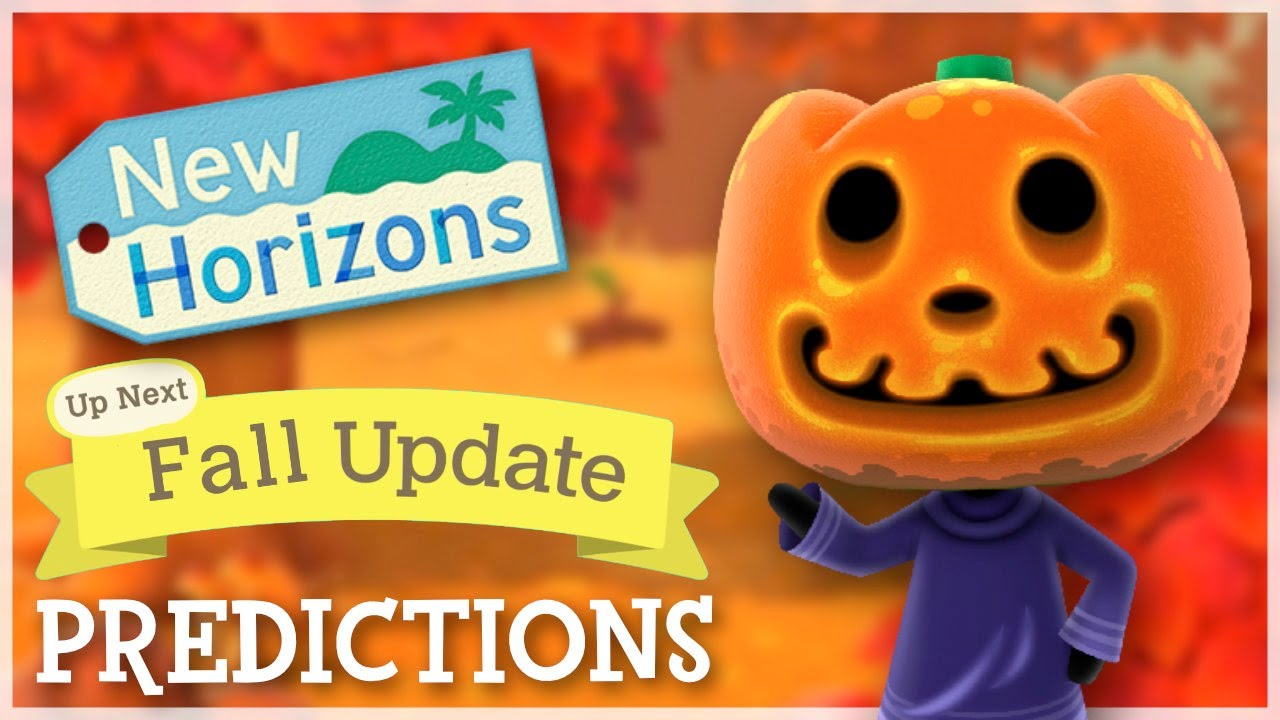 Animal Crossing New Horizons - Fall Update Predictions