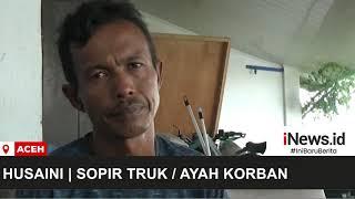 Anak Tewas akibat Ditabrak Truk yang Dikendarai Sang Ayah di Aceh