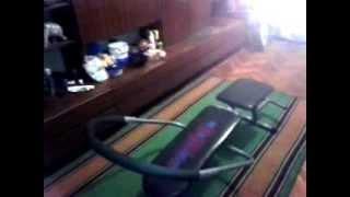 Відео огляд тренажера для сталевого преса Ab King Pro!
