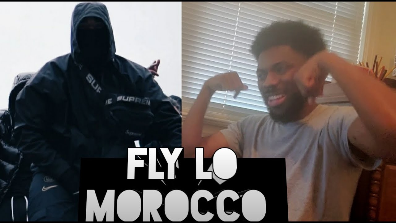 1st Time Hearing Him Reacting To Fly Lo Morocco Official Music Video Youtube