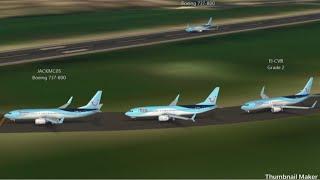 Tui, Innsbruck to Dublin ( infinte flight )