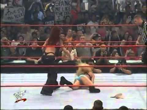 Wwe belt spank match
