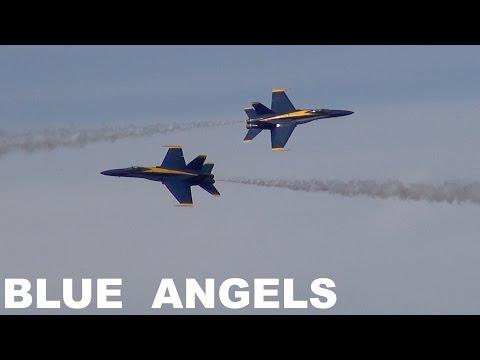 Blue Angels on Friday of San Francisco Fleet Week 2016