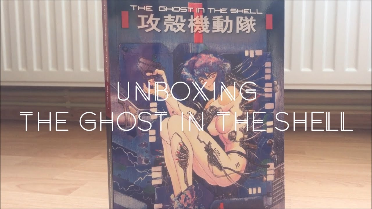 The Ghost In The Shell Manga Book Youtube
