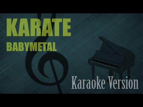 BabyMetal - Karate Karaoke Version | Ayjeeme Karaoke