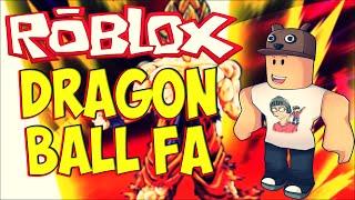 ROBLOX-The Golden Hair Warrior (Dragon Ball FA) #10