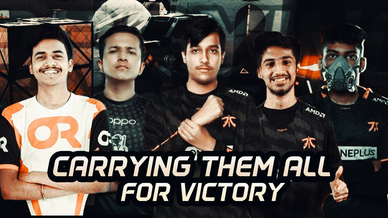 Carrying My Teammates To Victory In VALORANT | FnaticAsh