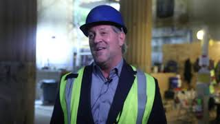 A look inside Great Banking Hall as restoration progresses