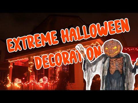Halloween Decorations 2020 | Extreme Outdoor Light Displays