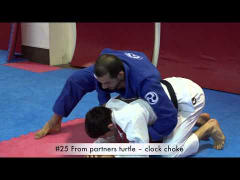 Brazilian Jiu Jitsu fundamentals part 1