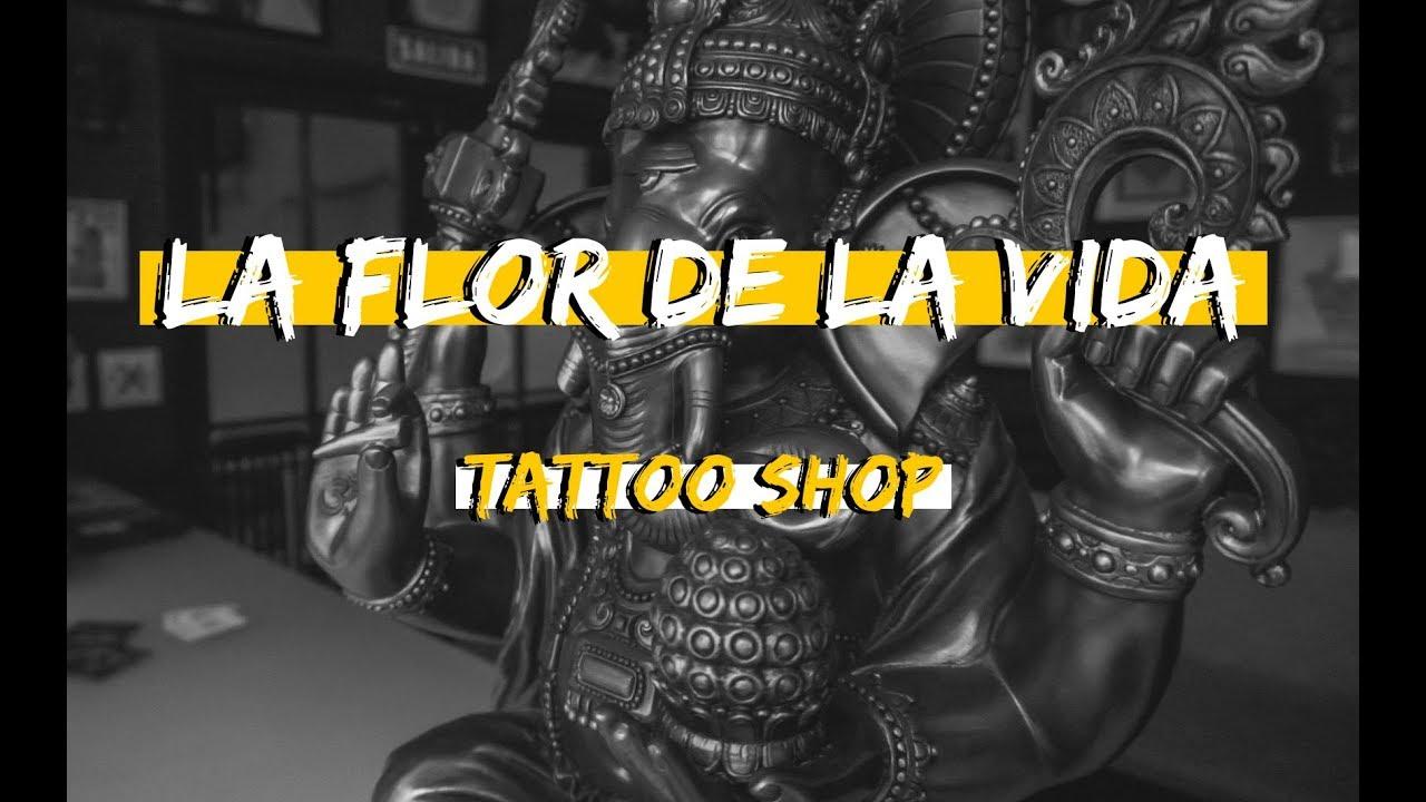 La Flor De La Vida Tattoo Shop Ronald Abian Youtube
