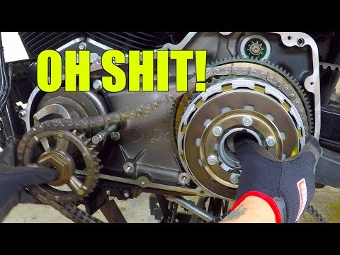 Installing chain conversion kit on Dyna