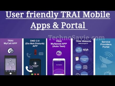 TRAI My call,Do not disturb(DND2.0),MY Speed by Telecom Regulatory Authority of India [tamil update]