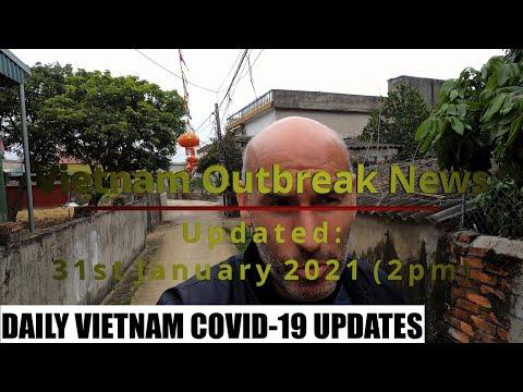 UPDATED Vietnam Outbreak News 31st January 2021 🇻🇳
