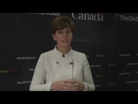 Minister Bibeau on the importance of the Global Fund