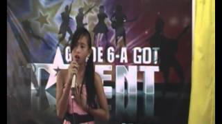 Little Girl From The Philippines Singing My Valentines by Vanessa Williams