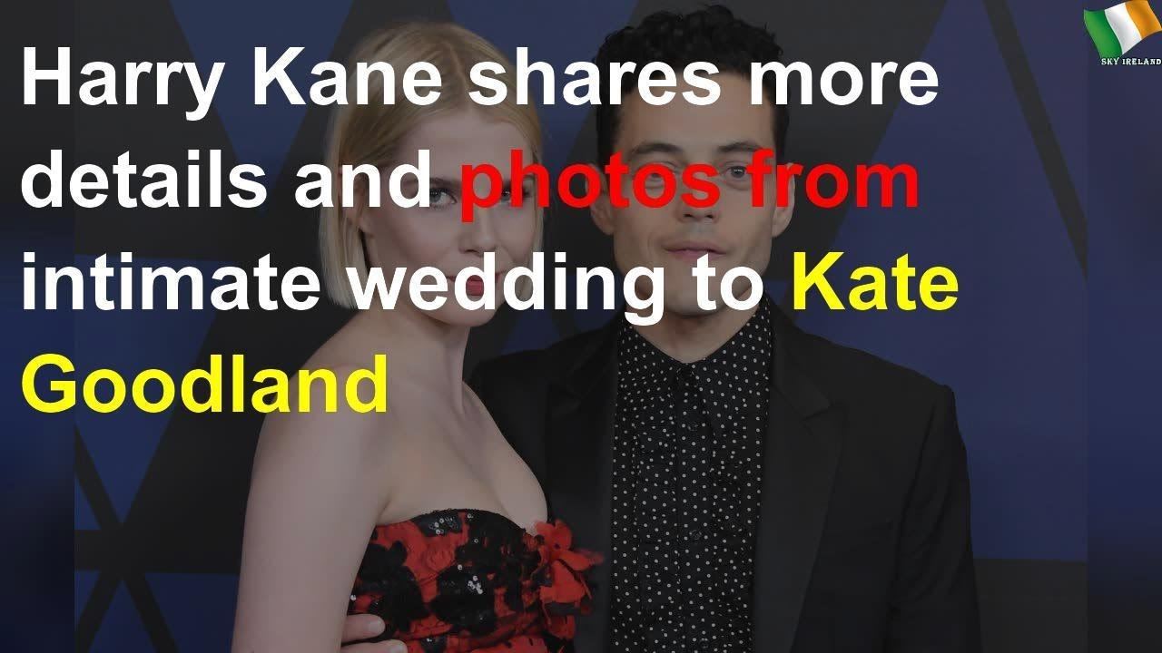 Harry Kane Shares More Photos From Intimate Wedding To Kate Goodland Youtube