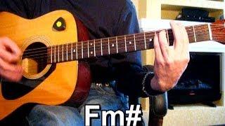 Владимир Кузьмин Пять минут от дома твоего Тональность Fm Как играть на гитаре