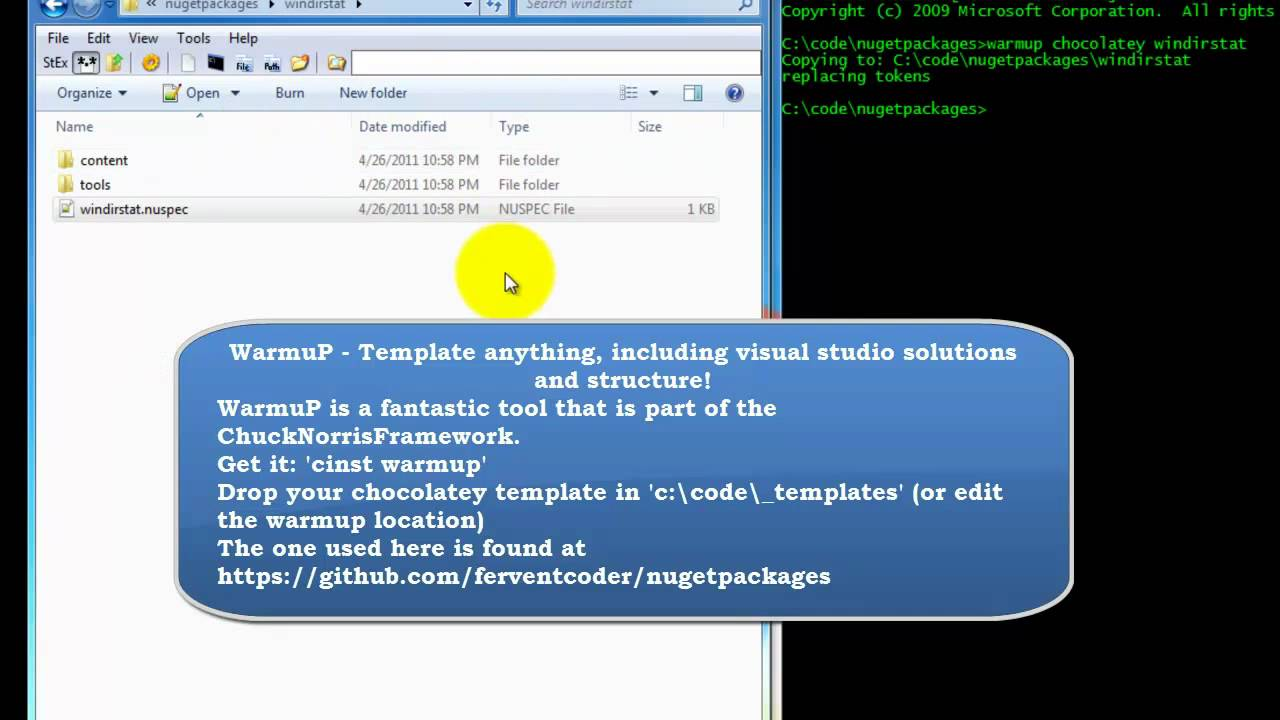 Create A Chocolatey NuGet Package