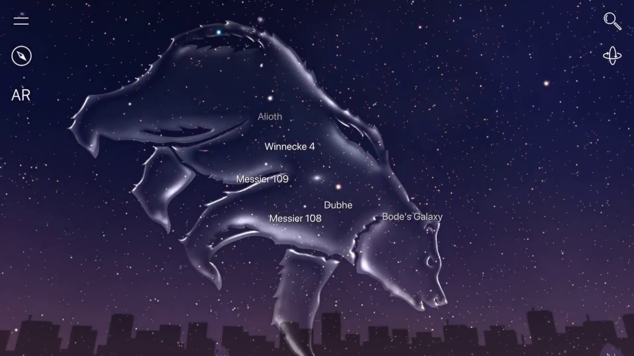 All of the Constellations in HD - YouTube