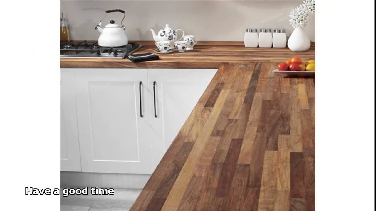 Hardwood Kitchen Worktops   YouTube