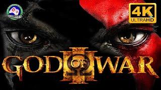 Бог Войны 3  ИГРОФИЛЬМ God of War 3 прохождение без комментариев 18+ 4K 60FPS  сюжет фэнтези