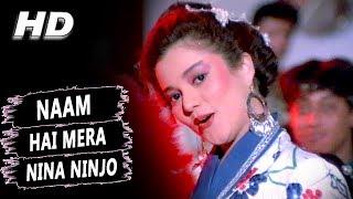 Naam Hai Mera Nina Ninjo | Kavita Krishnamurthy | Jung Baaz 1989 HD Songs | Mandakini
