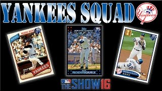 MLB The Show 16 All Yankees Squad vs WS Opponent