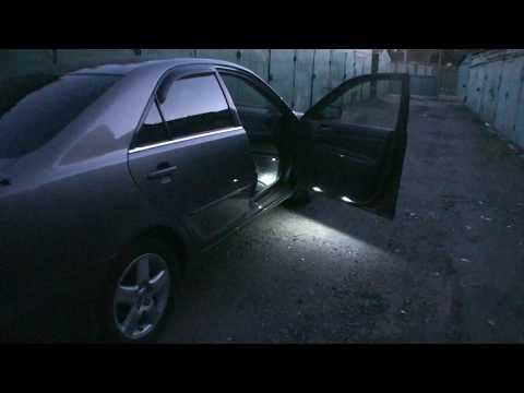 Подсветка открытых дверей Тойота Камри XV30 (ACV30L)