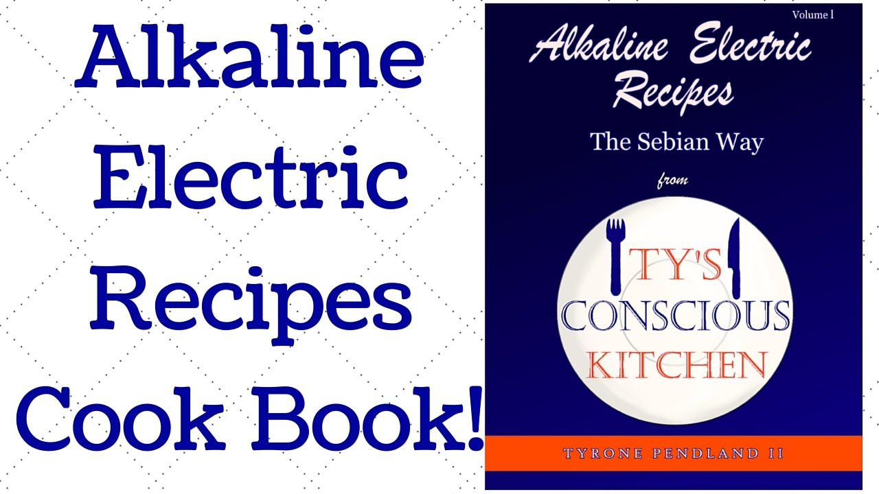 It\'s Finally Here!   Ty\'s Conscious Kitchen Cookbook - YouTube