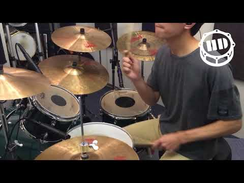 H.D. Studio J-Rock #24 MAN WITH A MISSION Dead End in Tokyo Drum Cover