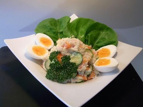【HD】 How to make potato salad ポテトサラダ