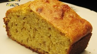 CORNBREAD with Coconut Milk (No Butter, No Cows' Milk)