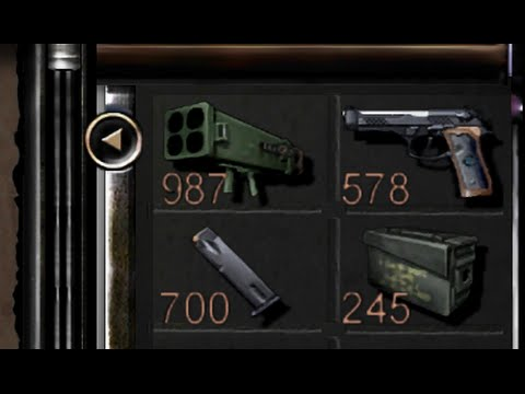 Resident Evil HD remaster MORE AMMO/ITEMS CHEAT