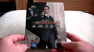 The Untouchables  blu-ray Steelbook
