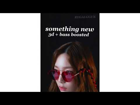 [ 3D + BASS BOOSTED ] TAEYEON [ 태연 ] - Something New
