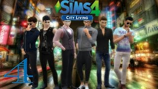 Sims 4 City Living l Part 4 l BACHELOR PARTY!