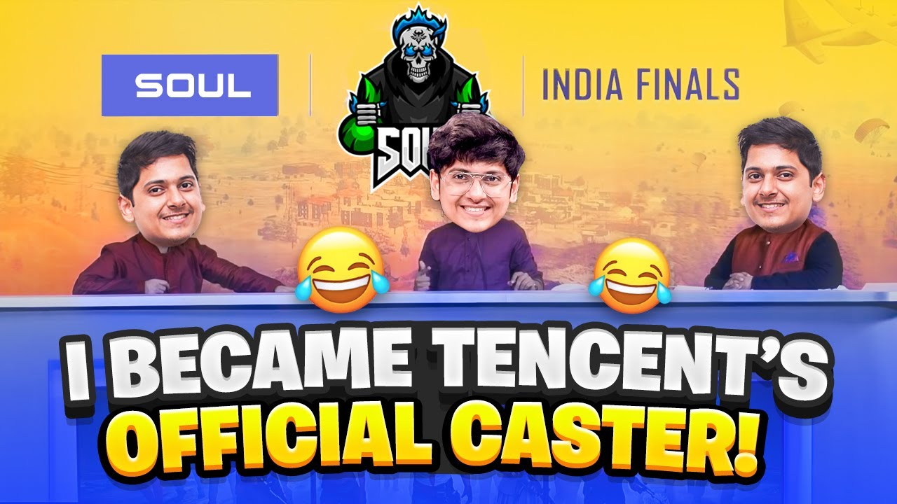 I became an official CASTER for PUBG MOBILE || Funny Stream Highlights ||