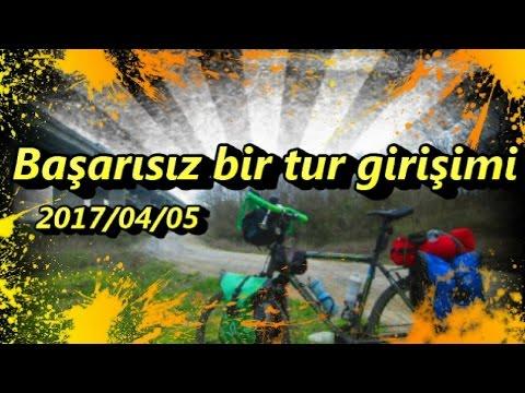 2017/04/05 Başarısız bir tur girişimi (Mecburen Günübirlik Bisiklet Turu - Ormanlı Deneme 1 )