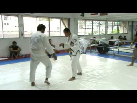 BJJ White Belt Vs. Judo Black Belt Thai National Team Player Kob Chalermsak Emac