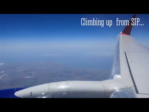 Aeroflot Boeing 737-800 full flight (pure sounds objective)